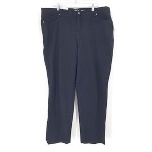Style & Co Sz 22W Straight Leg Jeans High Rise